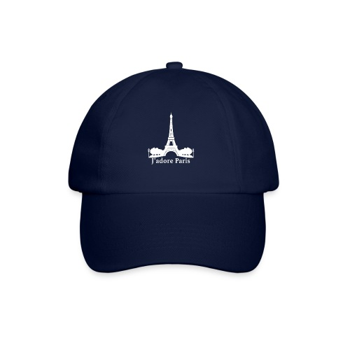 Design j'adore paris ma ville - Casquette classique