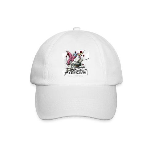 Don't mess up with the unicorn - Baseballkappe