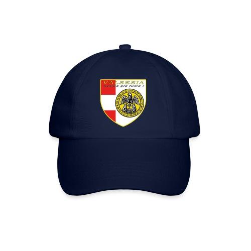 scudo simbolo comunità Valsesiana - Cappello con visiera