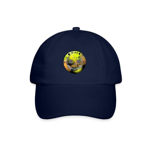 Rigormortiz Metallic Yellow Orange Design - Baseball Cap