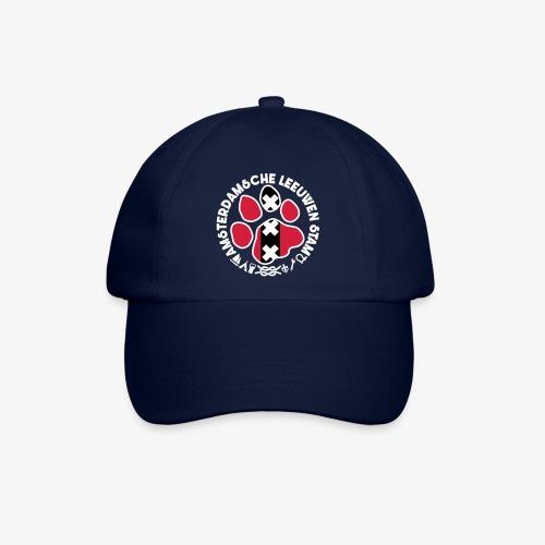 ALS witte rand donkershir - Baseballcap
