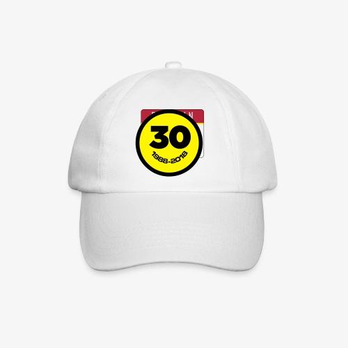 30 Jaar Belgian New Beat Smiley - Baseballcap