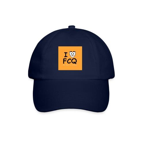 I Love FCQ button orange - Baseballkappe