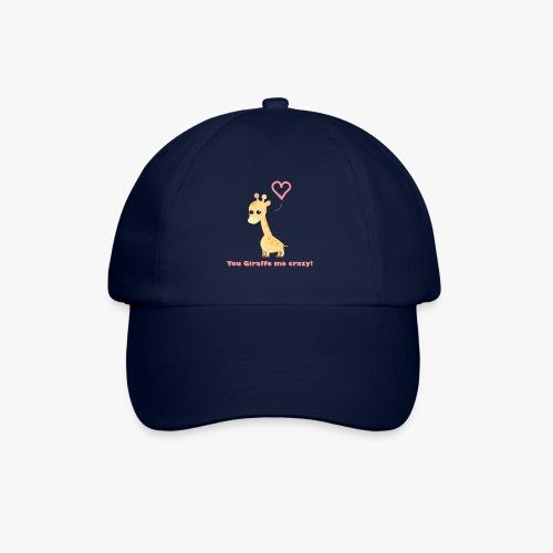 Giraffe Me Crazy - Baseballkasket