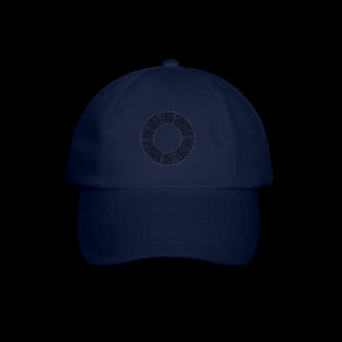 CALLIGRAPHY-CIRCLE - Cappello con visiera