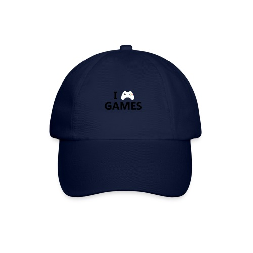 I Love Games - Gorra béisbol
