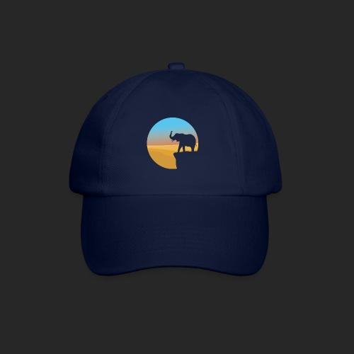 Sunset Elephant - Baseball Cap