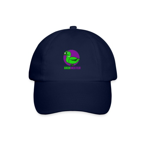 Greenduck Film Purple Sun Logo - Baseballkasket