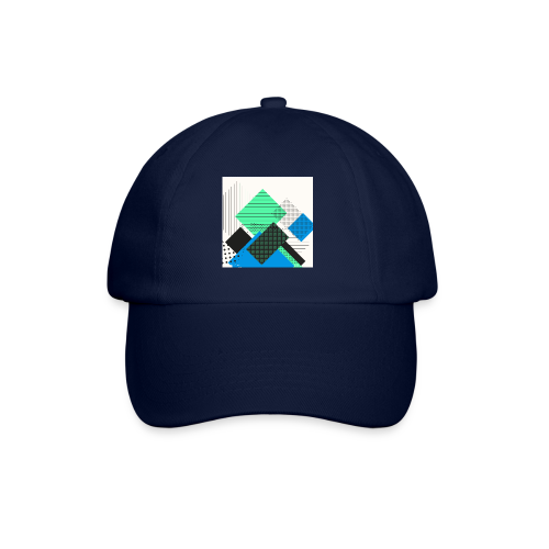 Abstract rectangles pastel - Baseball Cap