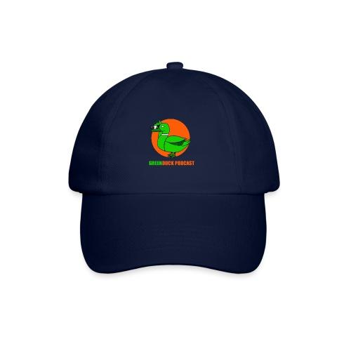 Greenduck Podcast Logo - Baseballkasket
