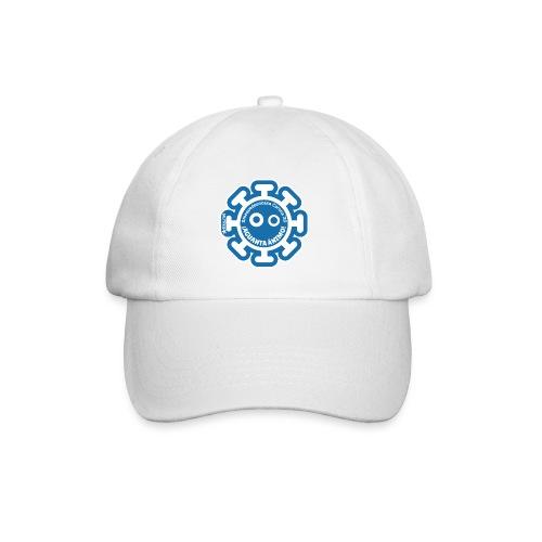 Corona Virus #mequedoencasa blu - Cappello con visiera