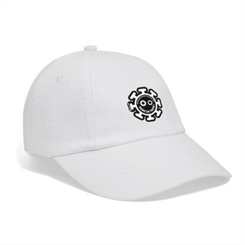 Corona Virus #stayathome nero - Cappello con visiera