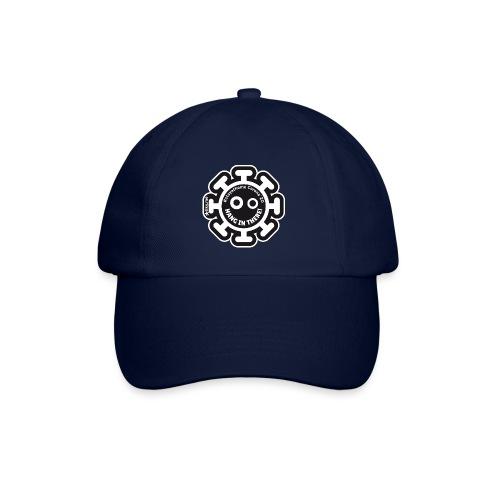 Corona Virus #stayathome black - Baseball Cap