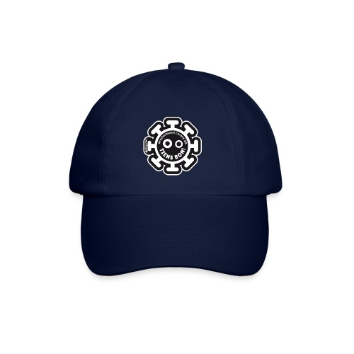 Corona Virus #restecheztoi noir - Baseball Cap