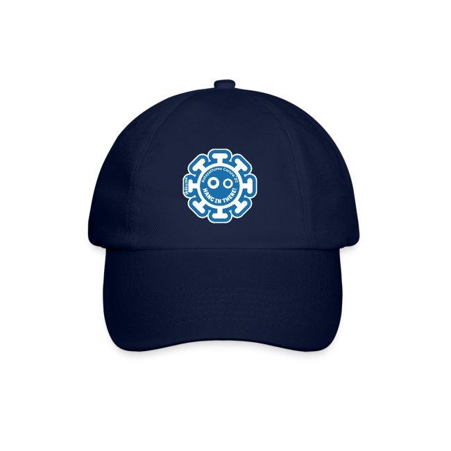 Corona Virus #stayathome blue