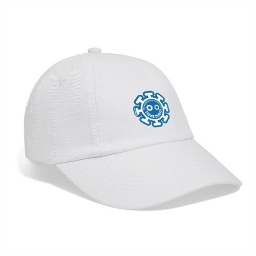 Corona Virus #rimaneteacasa azzurro - Cappello con visiera