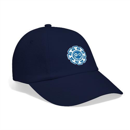 Corona Virus #rimaneteacasa azzurro - Gorra béisbol