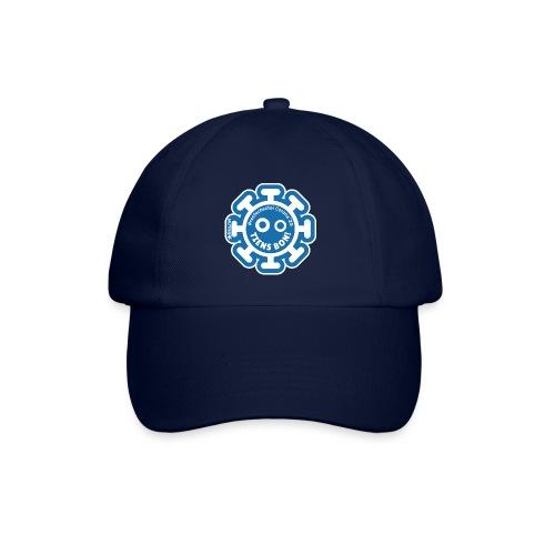 Corona Virus #restecheztoi gray bleu - Baseball Cap