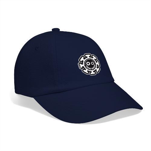 Corona Virus #rimaneteacasa nero - Cappello con visiera