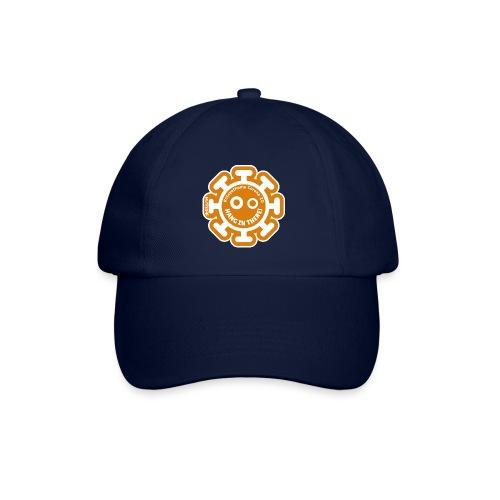 Corona Virus #stayathome orange - Baseball Cap