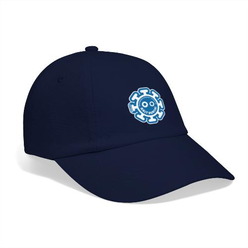 Corona Virus #WirBleibenZuhause blau - Gorra béisbol