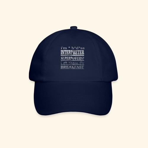 INTERPRETER - Cappello con visiera