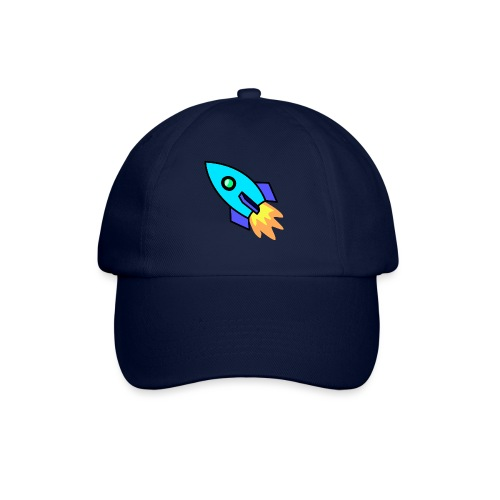 Blue rocket - Baseball Cap