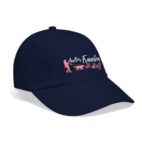 Außer Frauchen alle doof! - Hunde Design Geschenk - Baseballkappe
