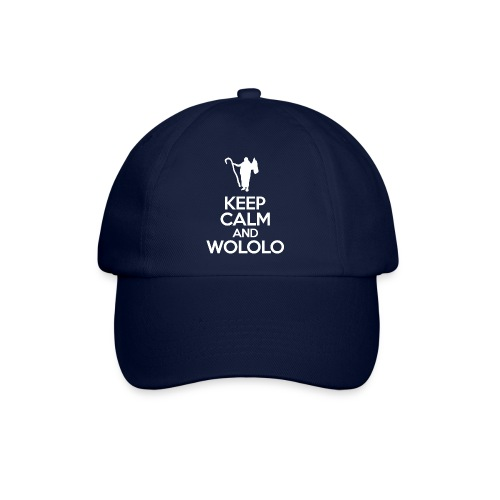 Keep calm and wololo - Gorra béisbol