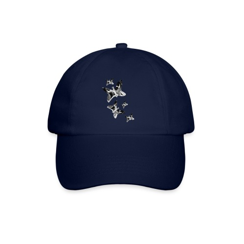Schmetterlinge - Baseballkappe