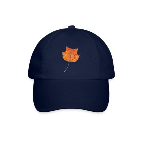 Herbst-Blatt - Baseballkappe
