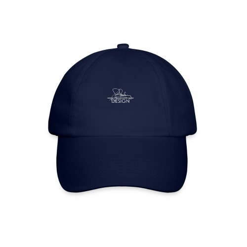 sasealey design logo wht png - Baseball Cap