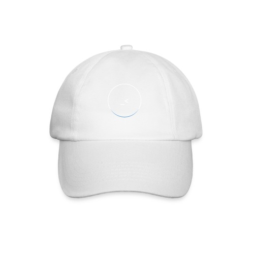 White and white-blue logo - Baseball Cap