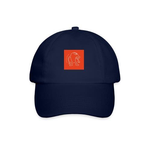 button vektor rot - Baseballkappe
