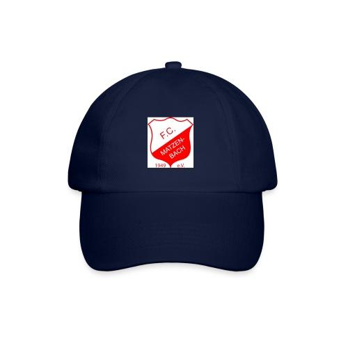 fc wappen 300dpi rot 55x50 - Baseballkappe