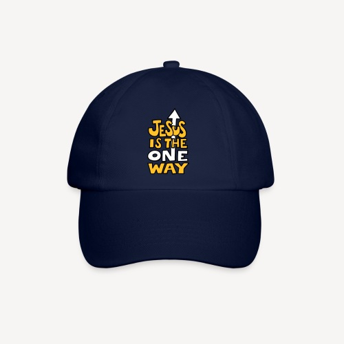 JESUS IS THE ONE WAY - Baseball Cap