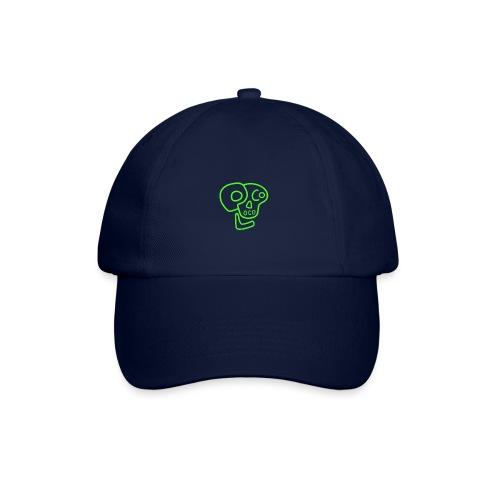 poco loco logo green - Baseball Cap