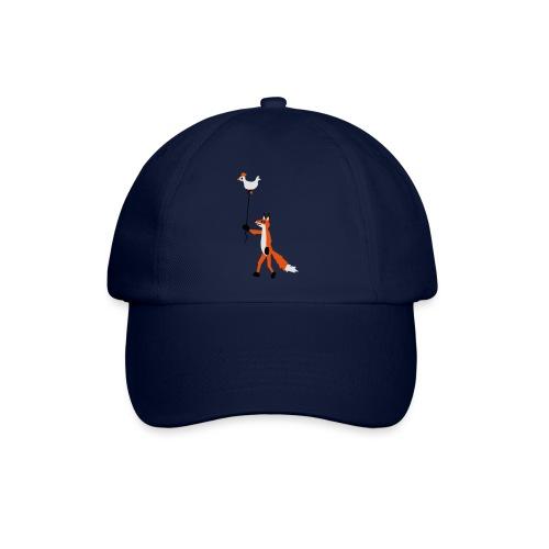 Fuchs und Henne - Baseballkappe