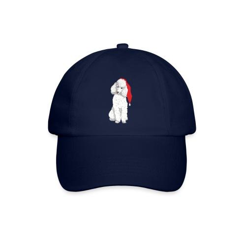 Poodle toy W - christmas - Baseballkasket
