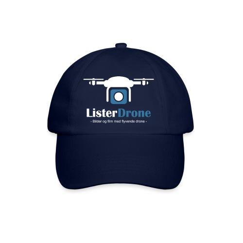 ListerDrone logo - Baseballcap