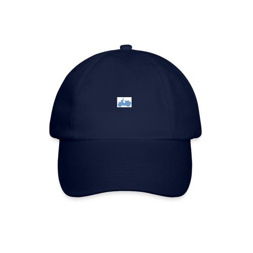 schwalbe blau klein - Baseballkappe