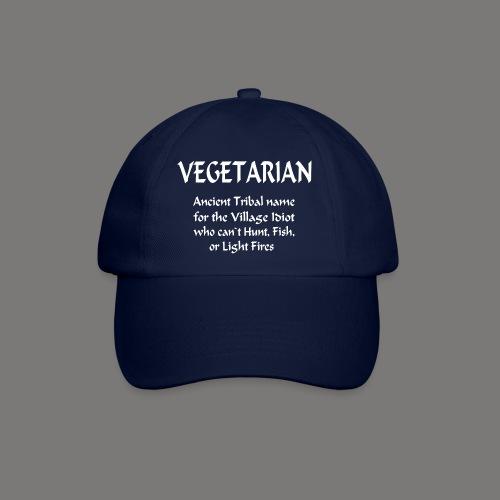 Vegetarian Ancient Name For...... - Baseballcap