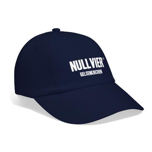 NULLVIER WHITE - Baseballkappe