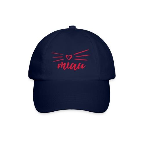 Vorschau: miau - Baseballkappe