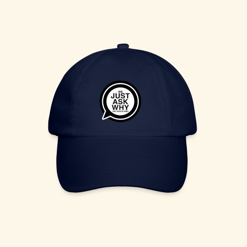 WE JUST ASK WHY - The Vegan Mind - Baseball Cap