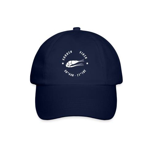 Vorren Logo MODERN [White] - Basebollkeps