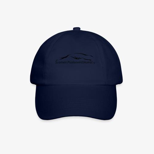 SUP logo musta - Lippalakki