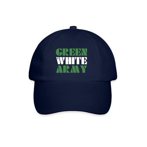 GREEN & WHITE ARMY - Baseball Cap