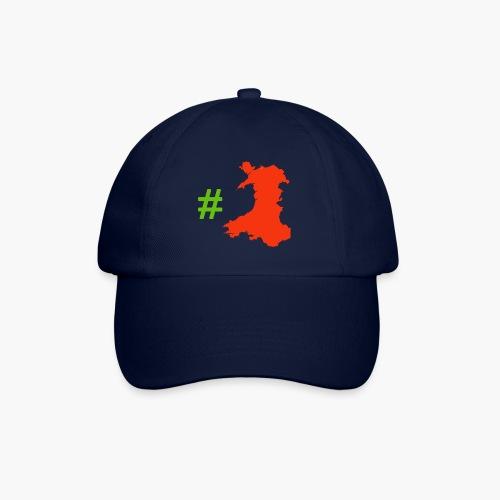 Hashtag Wales - Baseball Cap