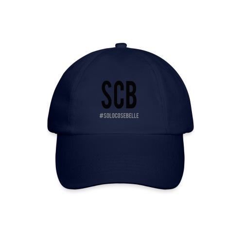 scb scritta nera - Cappello con visiera